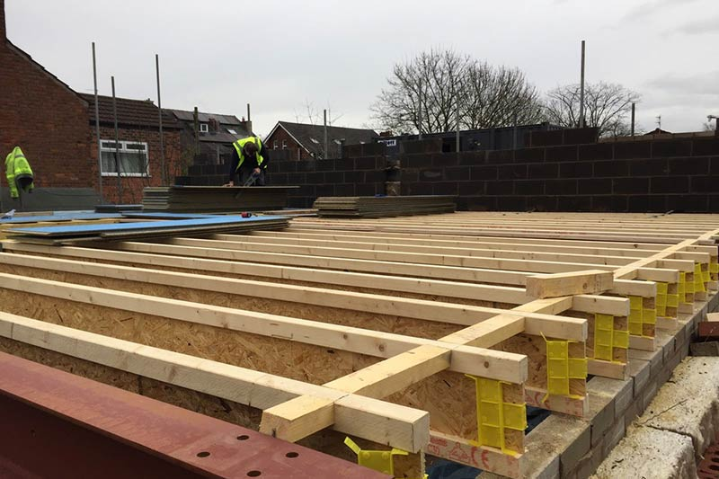 Burton Rd   Floor Joists